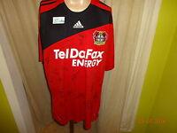 """Bayer 04 Leverkusen Adidas Trikot 2008/09 """"Tel Da Fax"""" + Handsigniert Gr.XXL Neu"""