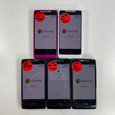 Lot of 5 Motorola Droid RAZR M XT907 Verizon Wireless *Check IMEI*