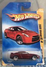 Hot Wheels 2009 Nissan Skyline GT-R Red New Models Die-cast