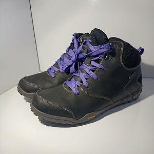 Hi-Tec Womens 9US 40EU Good as New Black Hiking Shoe ThermoDry Waterproof