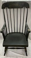 Antique Nichols & Stone Rocking Chair