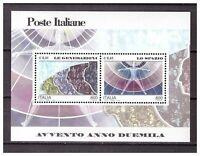 s18026) ITALIA REPUBBLICA 2000 MNH** Spazio Space S/S