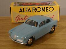 HACHETTE MERCURY TOYS ALFA ROMEO GIULIETTA SPRINT BLUE CAR MODEL LY01 1:48