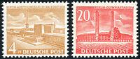 BERLIN 1953, MiNr. 112-113, 112-13, postfrisch, Mi. 70,-