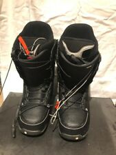 Burton Ruler Black Snowboard Boots Mens 10.5 (2013) (Pre-Owned) (Very Good)