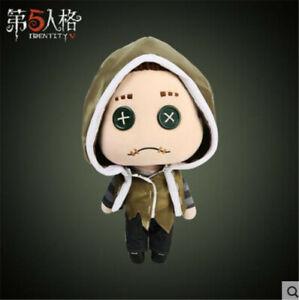 Identity V Mercenary Naib Subedar Plush Toy DIY Dress Up Doll Changable Cloths