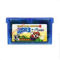GBA Game Boy Advance Super Mario Advance 4 Bros.3   38 e-Reader ecard Levels