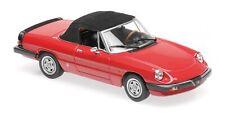 Alfa Romeo Spider Red 1983 MINICHAMPS 1:43 940120761