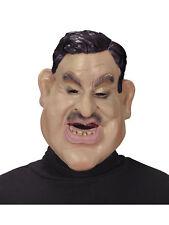Latex Maske George Karneval lustiger Mann Fasching