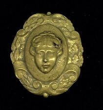 Nouveau Unknown Metal Costume Fabulous Unusual Brooch Pin Antique Art