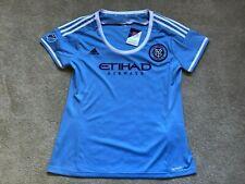 NEW Adidas MLS WOMEN New York City FC Clima-lite Soccer Jersey NWT XL