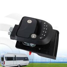 Door Lock Keyless Entry Latch Handle Knob Deadbolt RV Camper Trailer Black OF