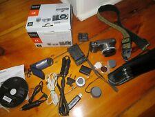 Sony Alpha NEX-C3 16 MP Compact Interchangeable Lens Digital Camera w wide Lens