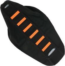 SDG 6-Rib Gripper Seat Covers Orange 95929OK Black Orange 0821-1899 95929OK