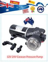 60 PSI 17 l/m Caravan Water Pressure Pump 12 Volt 24 Volt