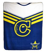 *NEW* North QLD COWBOYS Rugby League Polar Fleece Large Throw Blanket Christmas