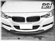 BMW 2012+ F30 AK Style M-Sports Bumper Carbon Fiber Front Lip 328i 335i