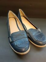 Old Navy Women's Size 10 Navy Loafers Shoes Flats Slip On