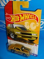 Hot Wheels 2019 Target Throwback Series #4 '86 Monte Carlo SS Gold w/ BWs