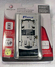 Universal Lithium Ion Camera Battery Charger with LCD Display-TC-LCUV-NEW | USA