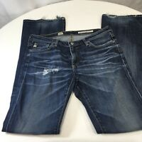 Adriano Goldschmied Jeans Women's Sz 30 R Angel Boot Cut Destroyed