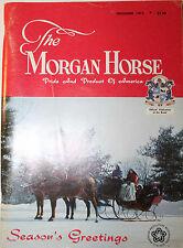 The Morgan Horse December 1975 Magazine Season's Greetings Back Issue