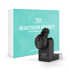 SAVFY Bluetooth Auricolari Mini Cuffie Magnetic Headset Microfono Per Smartphone