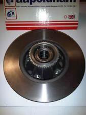 VAUXHALL VIVARO 1.9 2.0 2.5 1x NEW REAR WHEEL BEARING + BRAKE DISC + ABS RING
