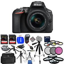 Nikon D5600 DSLR Camera with 18-55mm Lens - USA Model Mega Bundle Brand New!