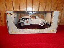 Signature Models 1935 Auburn 851 Detailed Die-Cast 1/32 New Hood Doors Open