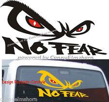 No Fear cartattoo auto adhesivos 40x22 cm m3 hardcore