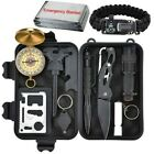 Survival Kit 12 IN 1 Emergency Tactical Defense Equipment Outdoor Camping Tools