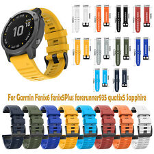 For Garmin Fenix6 Quick Fenix5 Universal Quality Silicone Strap 22mm Accessories