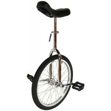 """Cyclists' Choice By-904A 20"""" Alloy Wheel Unicycle Chrome"""