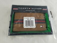 Tommy Hilfiger Men's Leather Passcase Wallet with Removable Card Holder