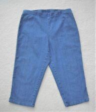 637278501d9a3 WHITE STAG DENIM JEANS LEGGINGS CROPPED CAPRIS BLUE SIZE 10 EUC