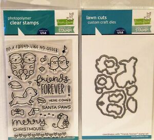 Lawn Fawn FRIENDS FOREVER Stamps & Dies Simon Says Stamp Stamptember Christmas