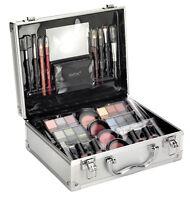 Large Vanity Make Up Beauty Box W/ Cosmetics Storage Case Xmas Gift Set - 91264