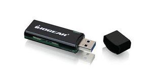 IOGEAR GFR304SD USB3.0 Black Card Reader for SD/microSD Cards
