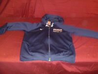 Nike Team Dri-Fit Blue And White Manchester Volleyball Jacket Size M RB 20182