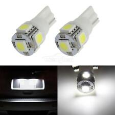 2PCS 168 194 2825 HID White 5 SMD 5050 LED Bulbs For License Plate Lights PC175
