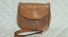 Louise et Cie 'Jael' Caramel Brown Gold Tone Shoulder Handbag  $258