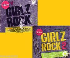 Disney Girlz Rock 2CD Lot Classic Great Pop a*teens HILLARY DUFF A*TEENS