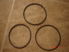 Super 8 Elmo GS-1200 Projector Belts,   3 Belt Set / 3 belt kit