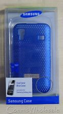 Genuine Samsung Galaxy Ace Blue Vented Case Part.  SAMACECCBL - NEW