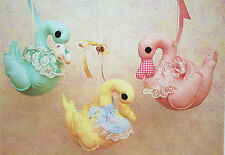 Hanging Ducks for a Nursery, Toy Sewing Pattern