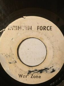 """I Roy / The Flames – War Zone / Solid As A Rock - 7"""" Vinyl Single"""