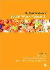 The SAGE Handbook of Social Work Research (2009, Hardcover)