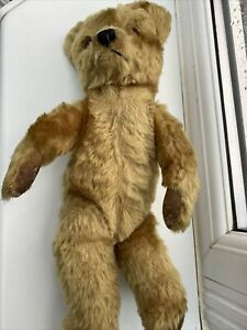 VINTAGE Jointed Teddy  Bear   12 inch