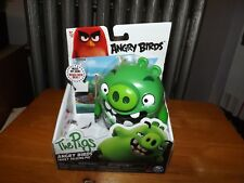 """Angry Birds, The Pigs, Tricky Talking Pig, 5"""" Figure, New In Box, 2016"""